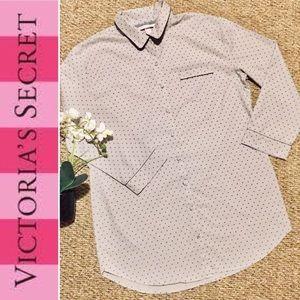🍂 Victoria's Secret Button Up Sleepshirt